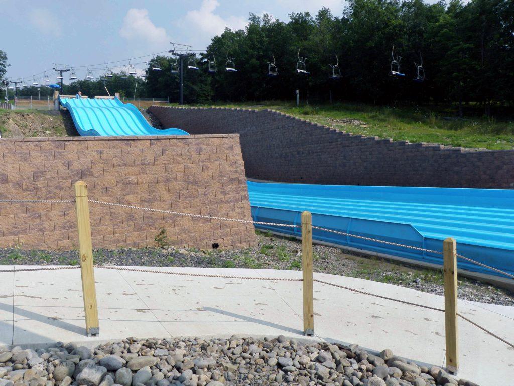 Waterpark Retaining Wall in Scranton, PA