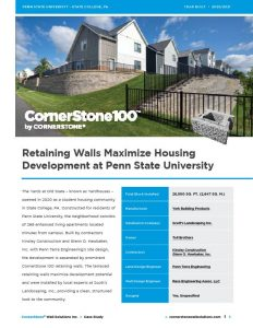 CornerStone Case Study - The Yards at Penn State