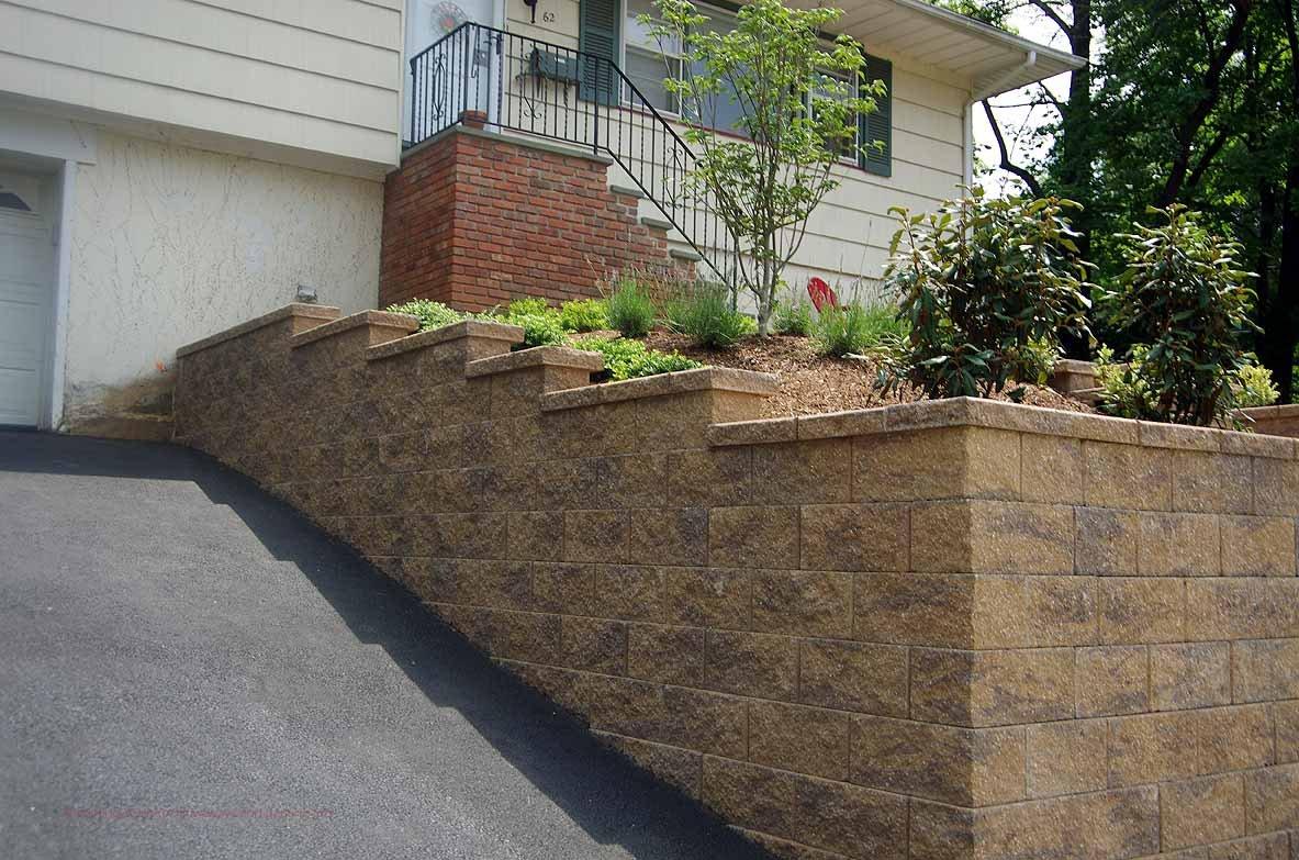 Driveway-retaining-wall