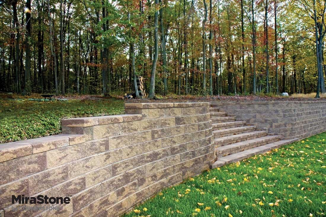 MiraStone-Retaining-Wall-by-LibertyStone-landscaped