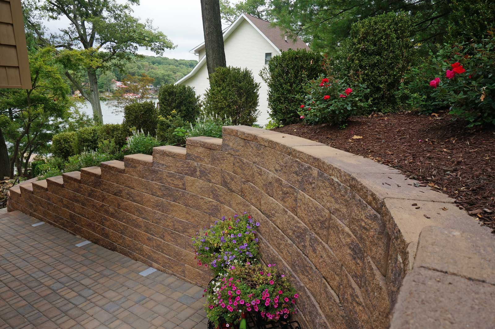 Retaining wall westchester county new york